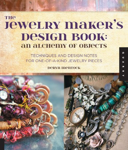 Deryn Mentock The Jewelry Maker's Design Book An Alchemy Of Objects Techniques And Design Note