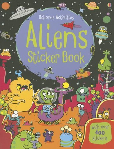 Kirsteen Robson Aliens Sticker Book