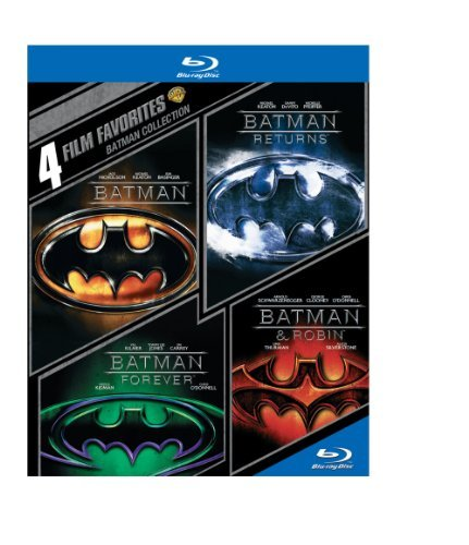 Batman 4 Film Favorites Blu Ray Pg13