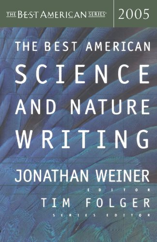 Jonathan Weiner The Best American Science And Nature Writing 2005