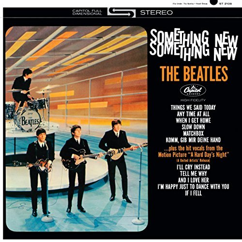 Beatles Something New (the U.S. Album) Mini Lp Replica