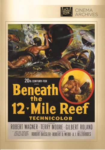 Beneath The 12 Mile Reef Wagner Moore Roland Naish DVD Mod This Item Is Made On Demand Could Take 2 3 Weeks For Delivery
