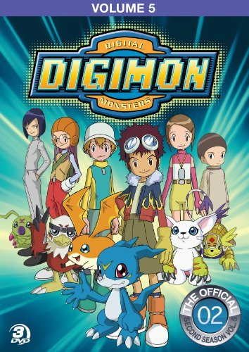 Digimon Adventure Volume 5 DVD Tvy7 Fs