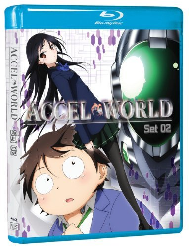 Accel World Set 2 Blu Ray Nr Ws