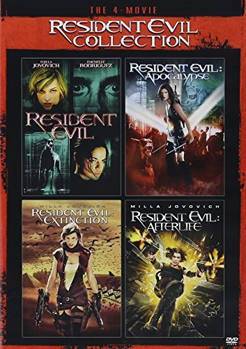 Resident Evil 4 Movie Collection DVD Resident Evil Collection