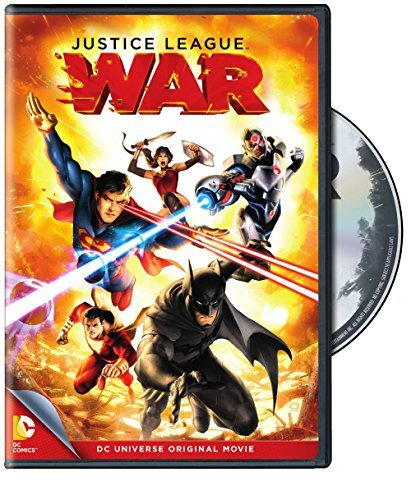 Justice League War DVD Nr