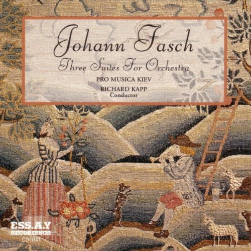 J.F. Fasch Three Suites For Orchestra