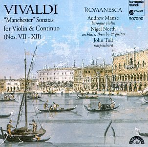 A. Vivaldi Son Vn & Continuo (7 12) Manze North Toll
