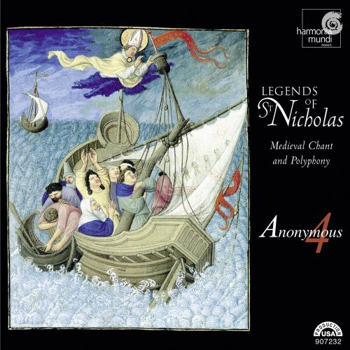 Anonymous 4 Legends Of St. Nicholas Mediev Anonymous 4
