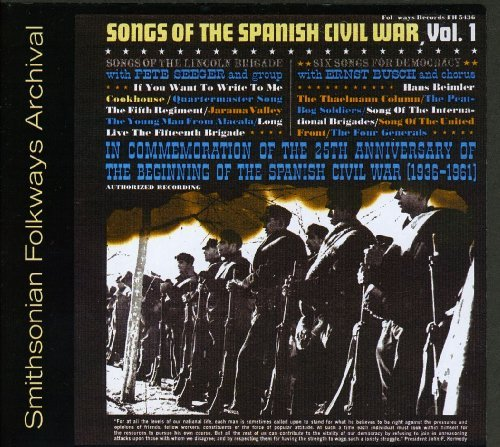 Pete Seeger Vol. 1 Songs Of The Spanish Ci CD R
