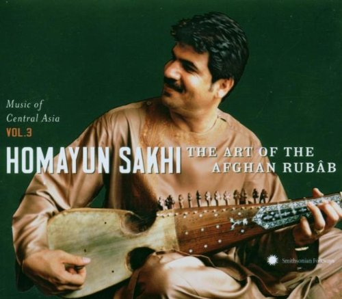 Sakhi Homayun Vol. 3 Art Of The Afghan Rubab Central Asian Incl. DVD Book