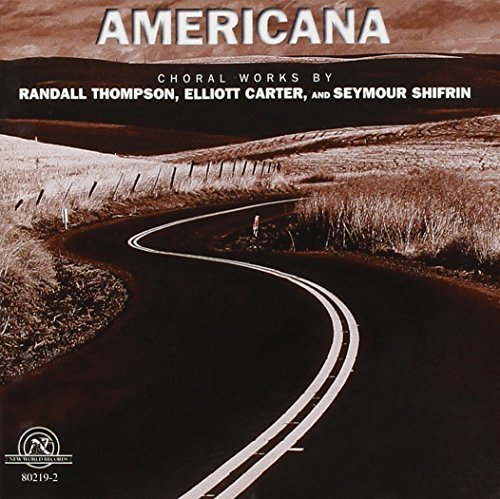 Thompson Shifrin Carter Americana Odes Of Shang To Mus