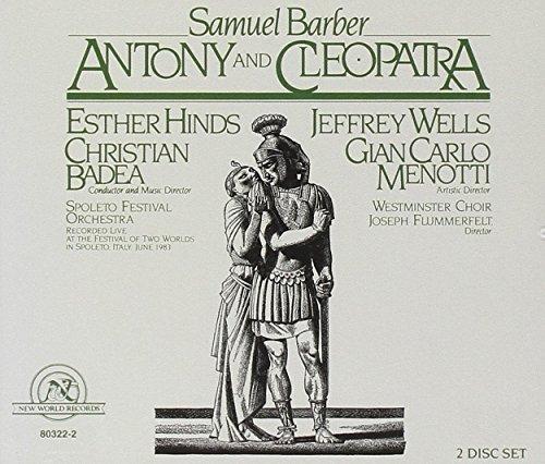 Samuel Barber/Antony & Cleopatra