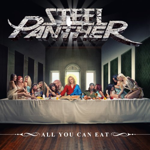 Steel Panther All You Can Eat Explicit Version Black 180 Gram Vinyl