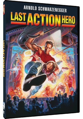 Last Action Hero Schwarzenegger O'brien DVD Pg13 Ws