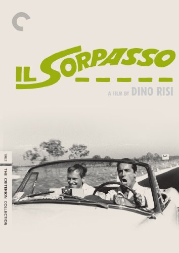 Il Sorpasso Gassman Trintignant Spaak DVD Nr Criterion Collection