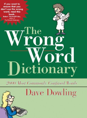 Dave Dowling The Wrong Word Dictionary