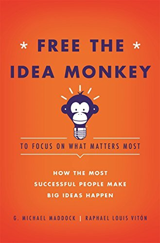 G. Michael Maddock Free The Idea Monkey... To Focus On What Matters Most!