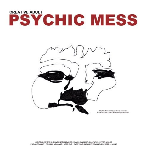 Creative Adult Psychic Mess Colored Vinyl Incl. Digital Download