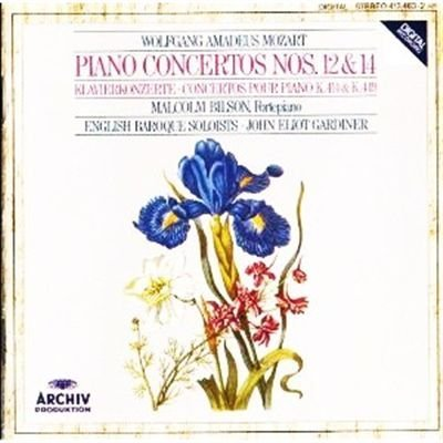Wolfgang Amadeus Mozart (composer) Malcolm Bilson Wolfgang Amadeus Mozart Piano Concertos Nos. 12 &