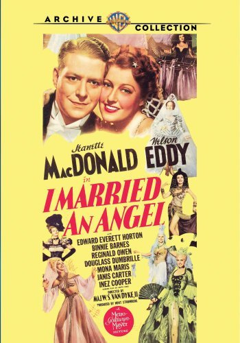 I Married An Angel (1942) Mac Donald Eddy Horton Bw DVD R Nr