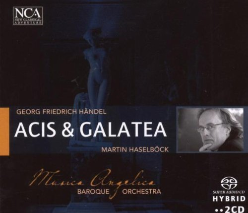 G.F. Handel Acis & Galatea Import Eu Sacd 2 CD Set Musica Angelica Baroque Orch.
