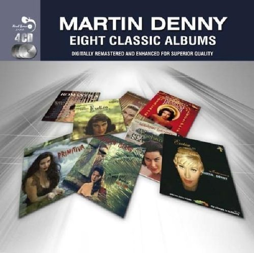 Martin Denny Eight Classic Albums Import Gbr 4 CD