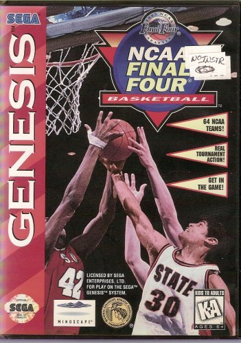 Sega Genesis Ncaa Final Four Basketball