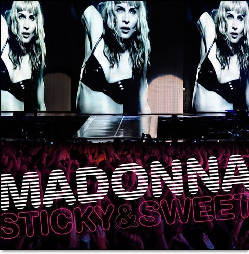 Madonna Sticky & Sweet Tour Import Eu Incl. DVD
