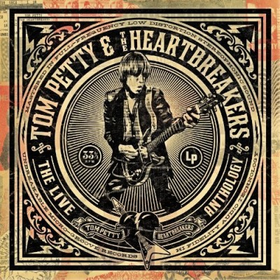 Tom Petty & The Heartbreakers Live Anthology 4 CD