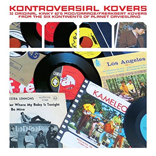 Various Artist Kontroversial Kovers 32 Kinky Colored Vinyl Lmtd Ed.