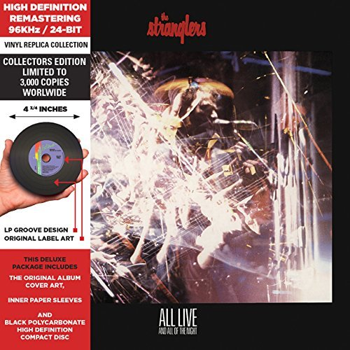 Stranglers All Live & All Of The Night Remastered Lmtd Ed. Deluxe Vinyl Replica
