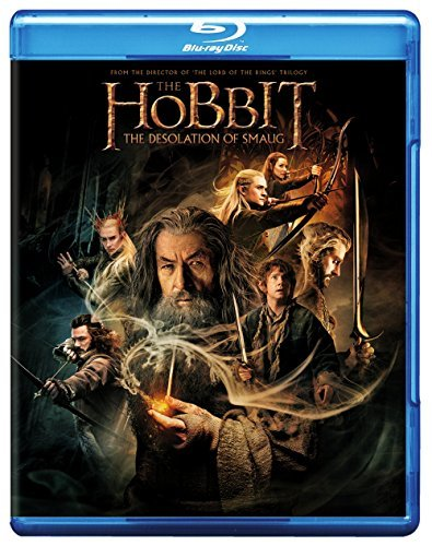 Hobbit The Desolation Of Smaug Mckellen Freeman Armitage Blu Ray DVD Uv Nr Ws