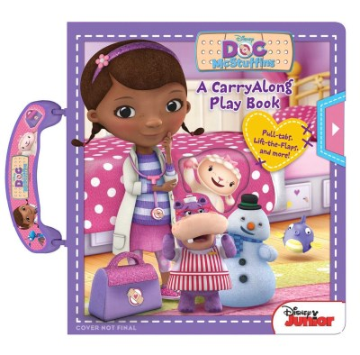 Disney Doc Mcstuffins Disney Doc Mcstuffins Carryalong Play Book