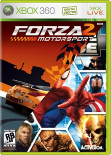 Xbox 360 Marvel Ultimate Alliance Forz