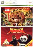 X360 Kung Fu Panda Lego Indiana Jones