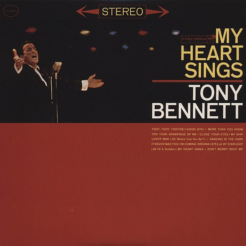 Tony Bennett My Heart Sings CD R