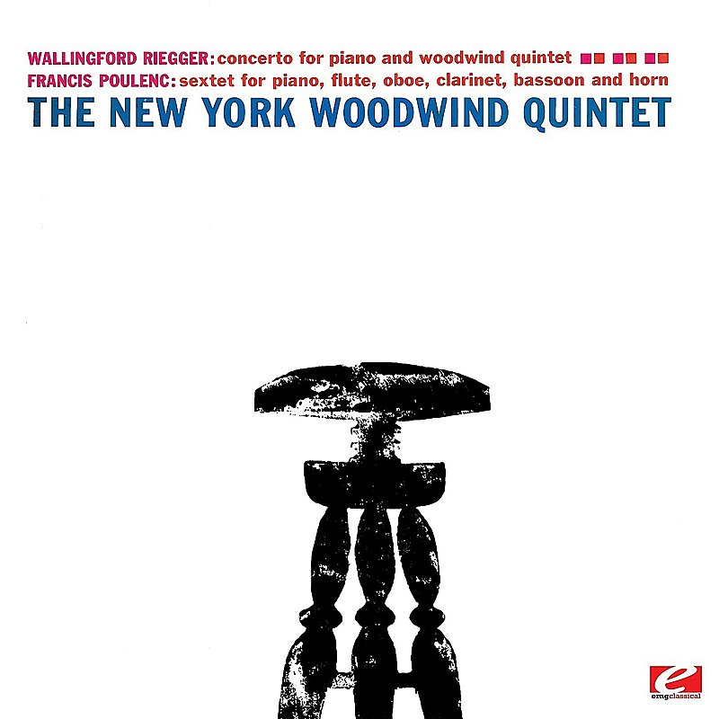 New York Woodwind Quintet/Poulenc: Sextet For Piano & Wi@Cd-R@Remastered
