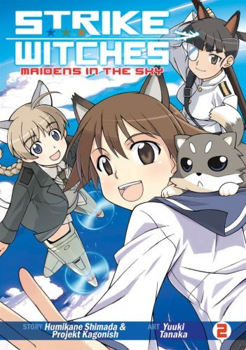 Humikane Shimada Strike Witches Maidens In The Sky Vol. 2