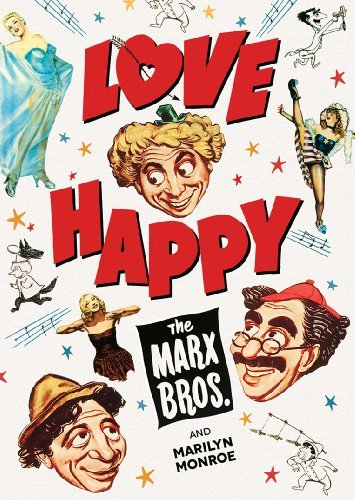 Love Happy Marx Brothers DVD