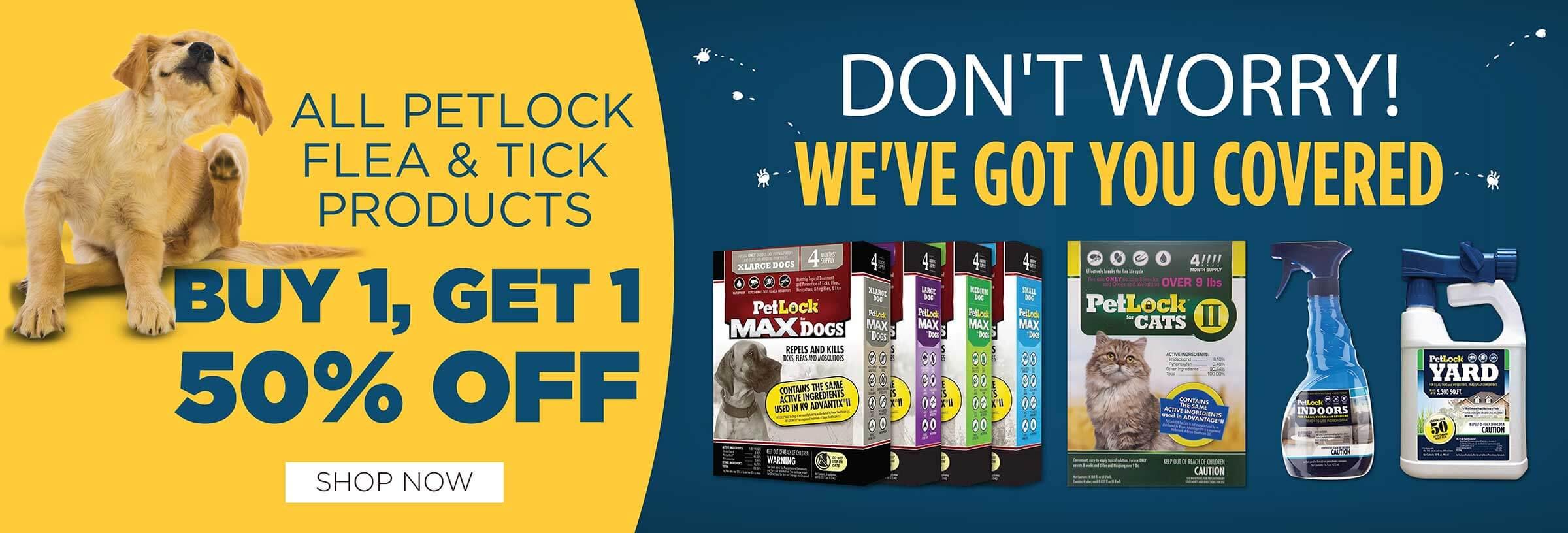 Petlock - Buy 1 Get 1 Half Off