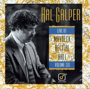 Galper Hal Live At Maybeck Recital Hall