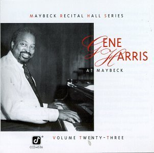 Gene Harris Live At Maybeck Recital Hall CD R