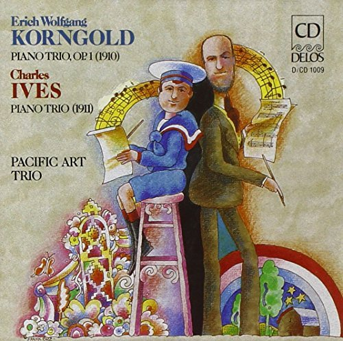Korngold Ives Trio Pno Pacific Arts Trio