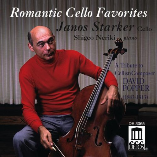 D. Popper Romantic Cello Favorites Starker (vc) Neriki (pno)