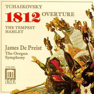 Pyotr Ilyich Tchaikovsky 1812 Overture Hamlet The Tem Depriest Oregon So