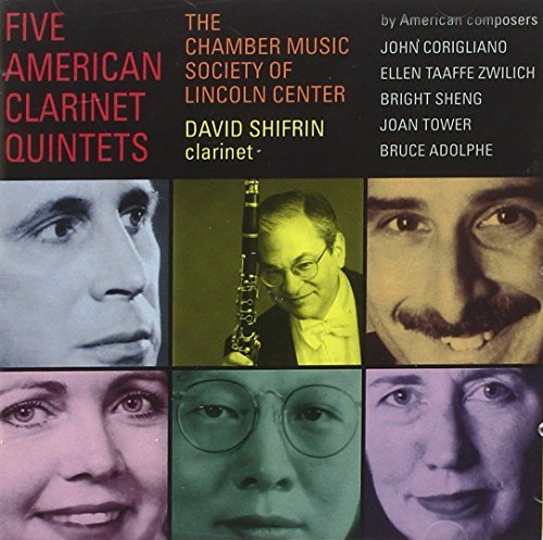 Corigliano Zwilch Adolphe & American Clarinet Quintets [2 Schifrin*david (cl) Chbr Music Society Of Lincoln