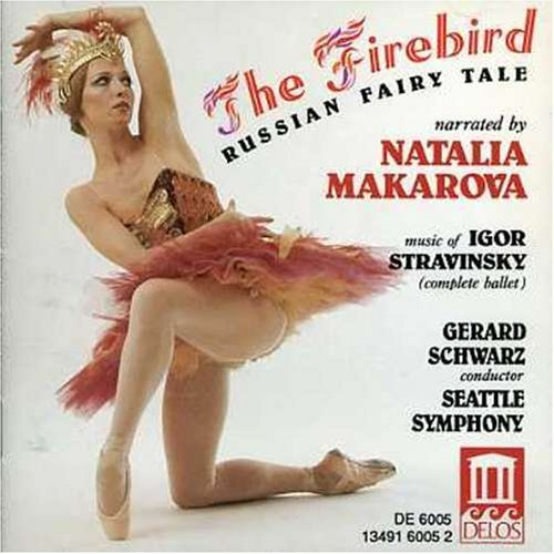 I. Stravinsky Firebird Comp Russian Fairy Ta Makarova*natalia (nar) Schwarz Seattle So