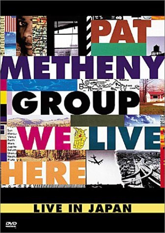 Pat Metheny Group We Live Here Clr 5.1 Nr