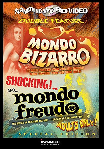 Mondo Bizarro Mondo Freudo Double Feature DVD Mod This Item Is Made On Demand Could Take 2 3 Weeks For Delivery